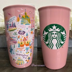 Disneyland Starbucks Attractions Tumbler